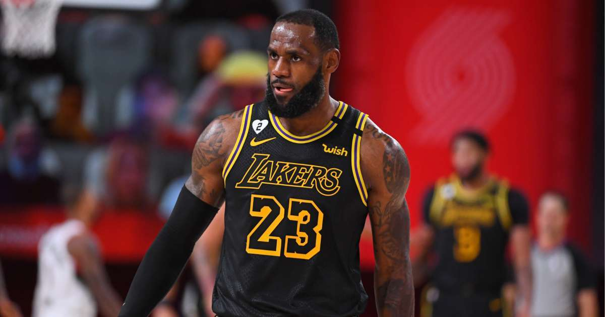 LeBron James NBA Jacob Blake protest All Caps message We Demand Better