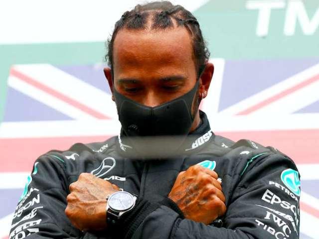 Lewis Hamilton Pays Tribute to Chadwick Boseman After Winning Belgian GP
