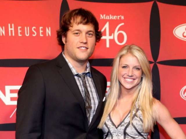 Matthew Stafford Fans Sound off on Wife Kelly's Message Blasting the NFL Over False Positive COVID-19 Test