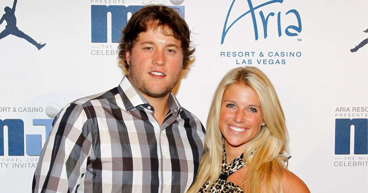 Matthew Stafford wife Kelly blast NFL false positive COVID-19 test family harrassed