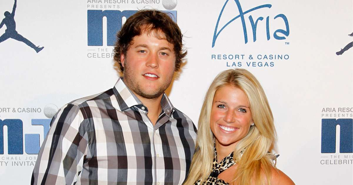 Matthew Stafford Wife Kelly champ last boat ride