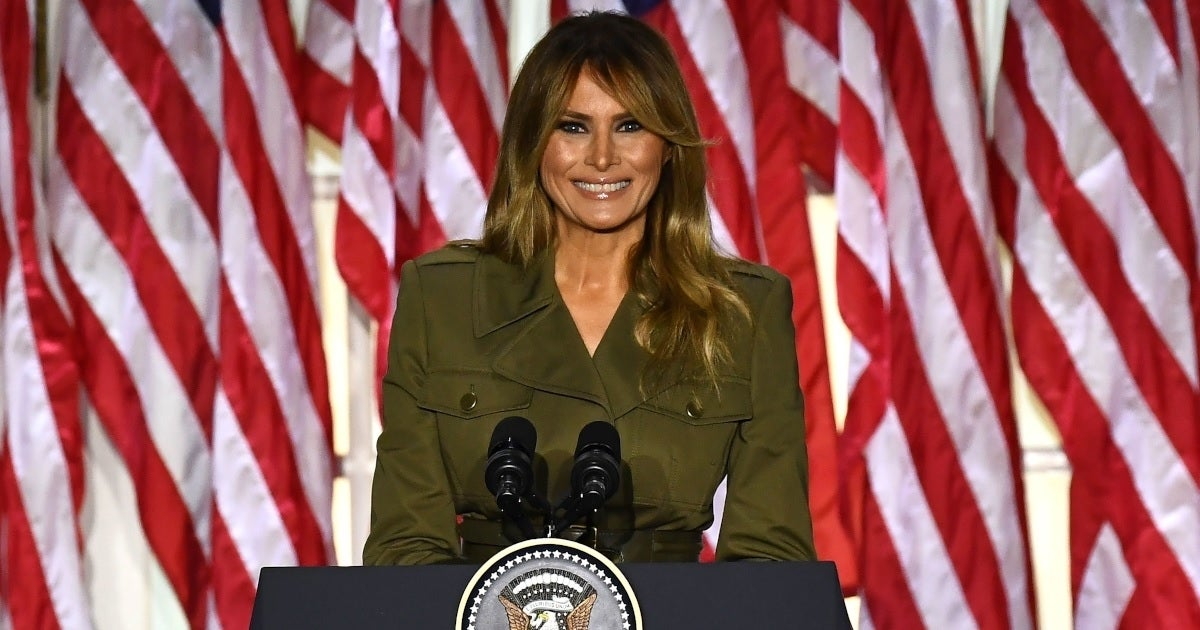 melania trump getty images