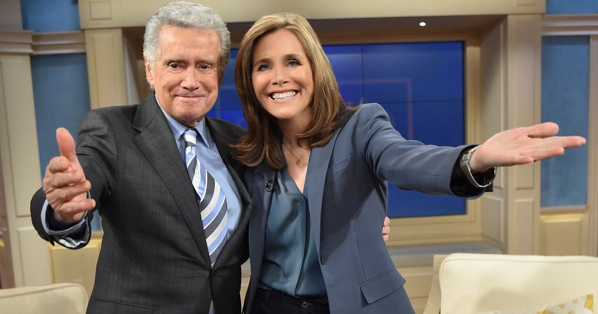 meredith vieira regis philbin getty images abc