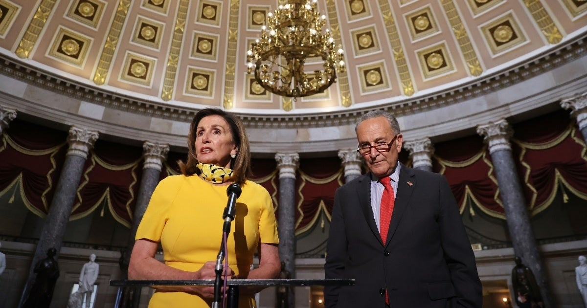 nancy pelosi chuck schumer getty images
