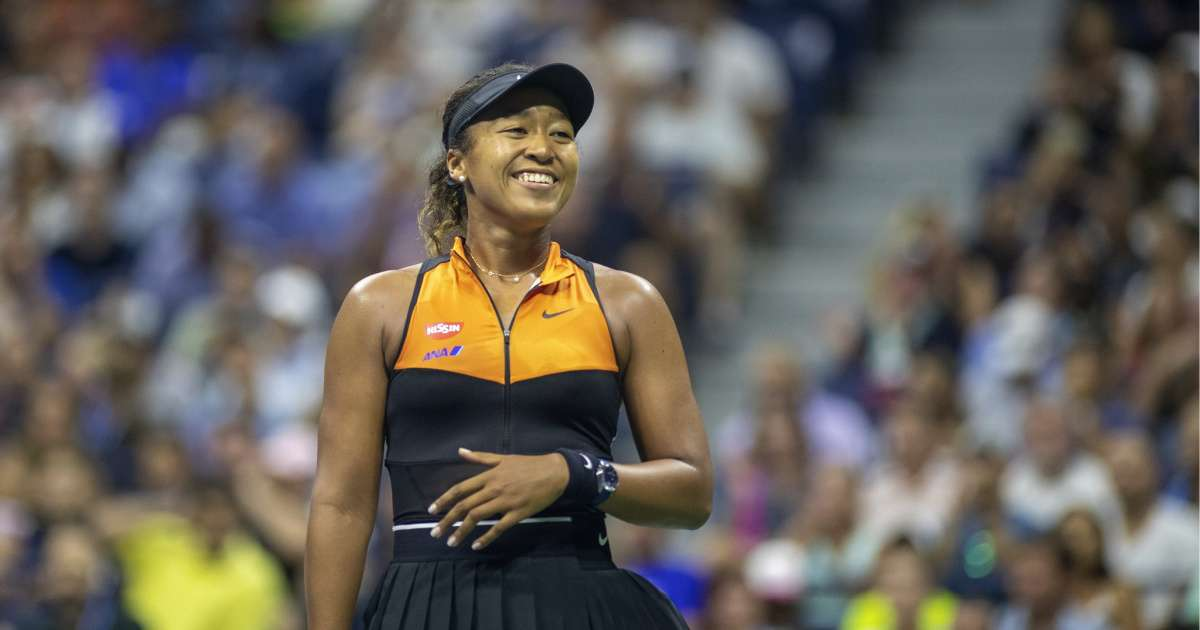 Naomi Osaka looking forward returning action US Open