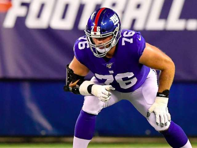 New York Giants' Nate Solder Sits out Season Over Son's Cancer Battle
