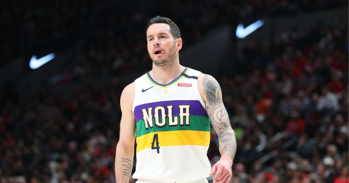 NBA players don't care Donald Trump watches Pelicans JJ Redick