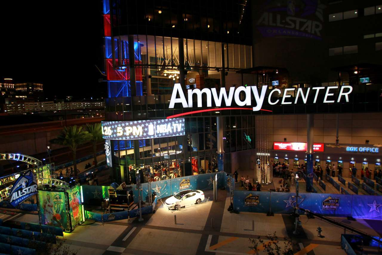 NBA Voting Center Amway