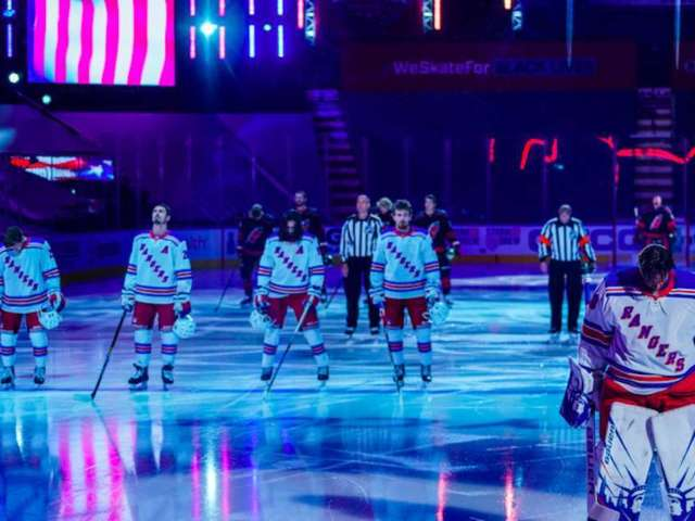 NHL Fans Stand in Solidarity With BLM by Kneeling After Hockey Players Stood During National Anthem
