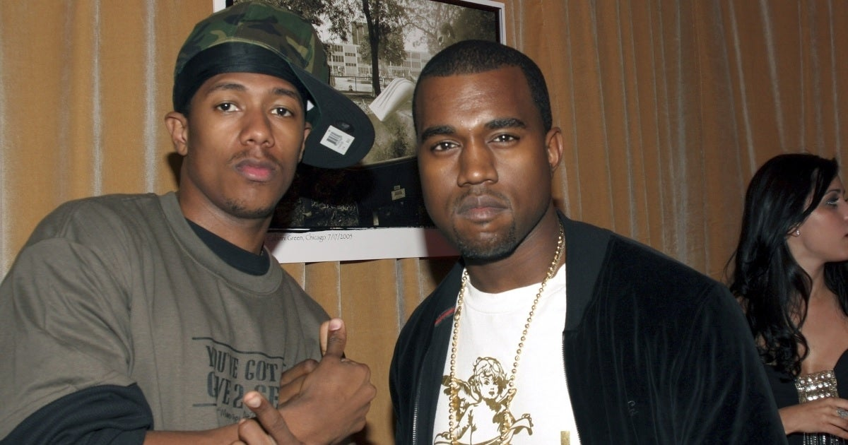 nick cannon kanye west getty images