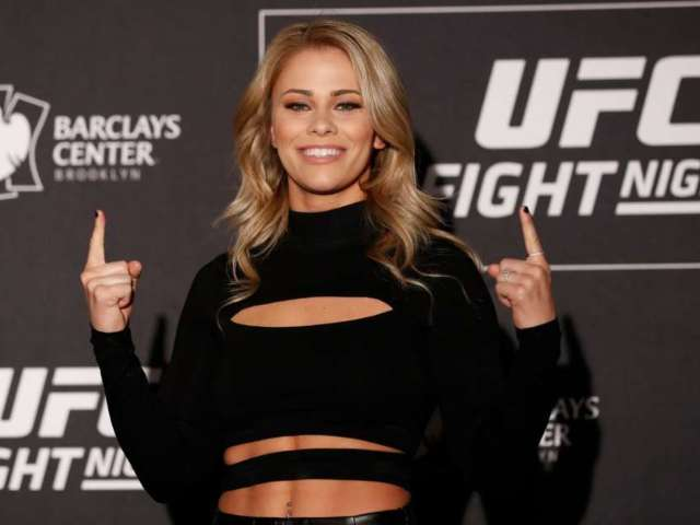Paige VanZant Nails Toe-Touch in 'Suns out, Buns out' Pool Video