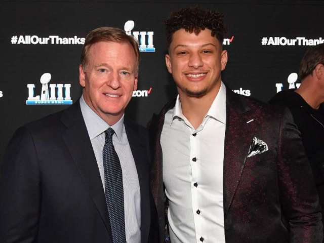 Patrick Mahomes Says He Spoke to NFL Commissioner Roger Goodell About Black Lives Matter Movement
