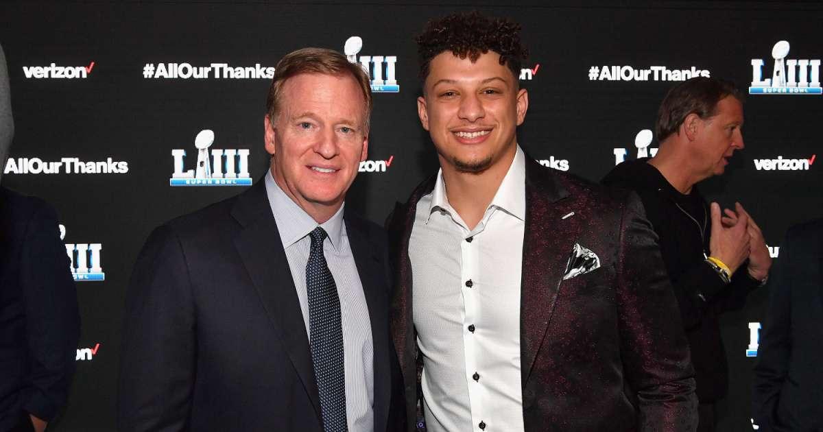 Patrick Mahomes says he spoke to NFL commissioner Roger Goodell Black Lives Matter movement