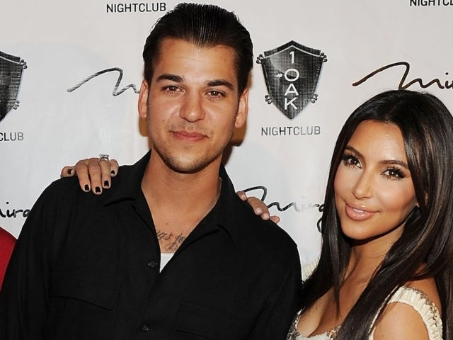 Rob Kardashian Trolls Sister Kim Kardashian's Lingerie Post With Hilarious Comment