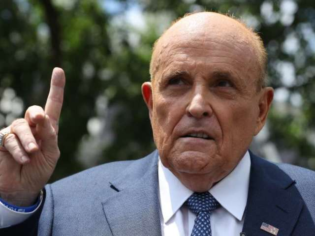 Rudy Giuliani Denies Misconduct in Controversial Scene From 'Borat 2'