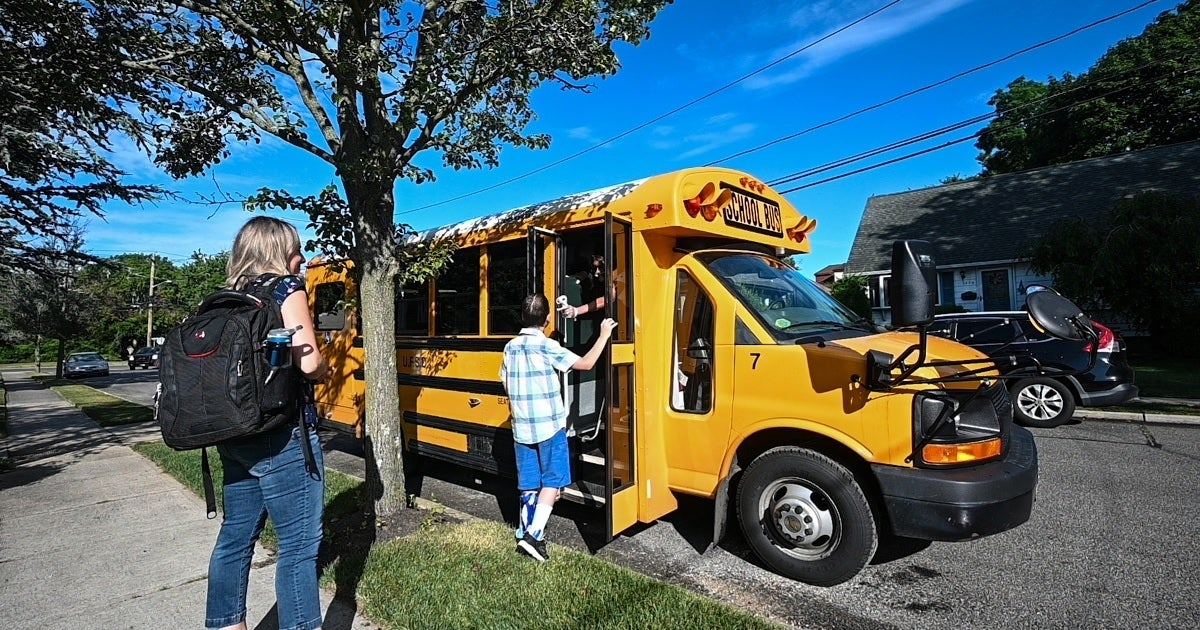 school bus coronavirus getty images