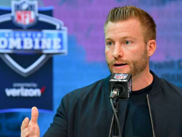 Rams Coach Sean McVay Jokes About Welding in Latest 'Hard Knocks' Trailer, Supports Mask-Wearing