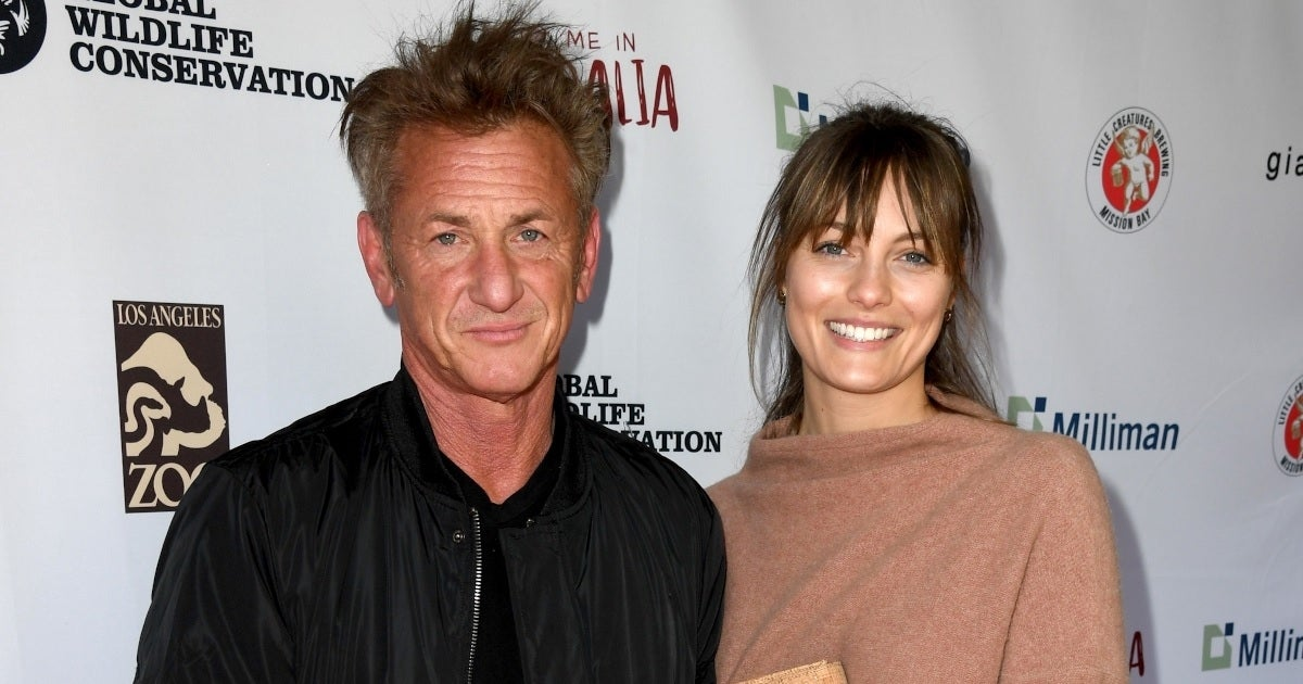 sean penn leila george getty images