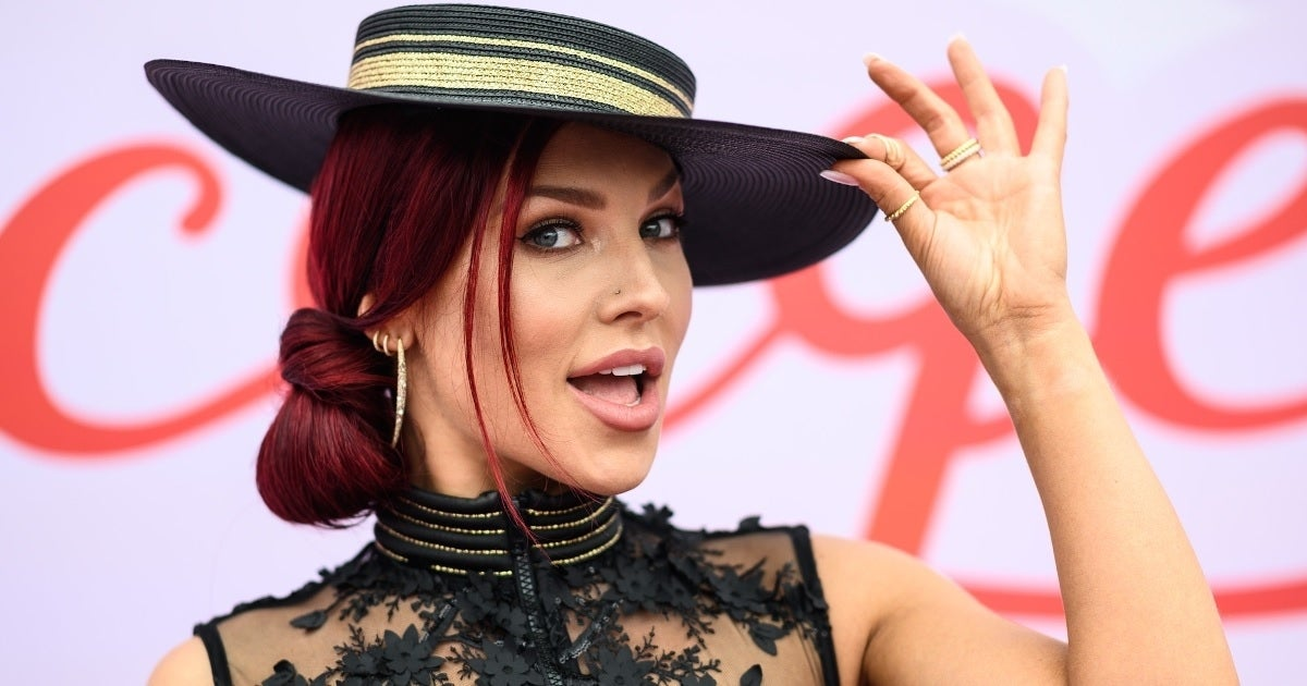 sharna burgess getty images