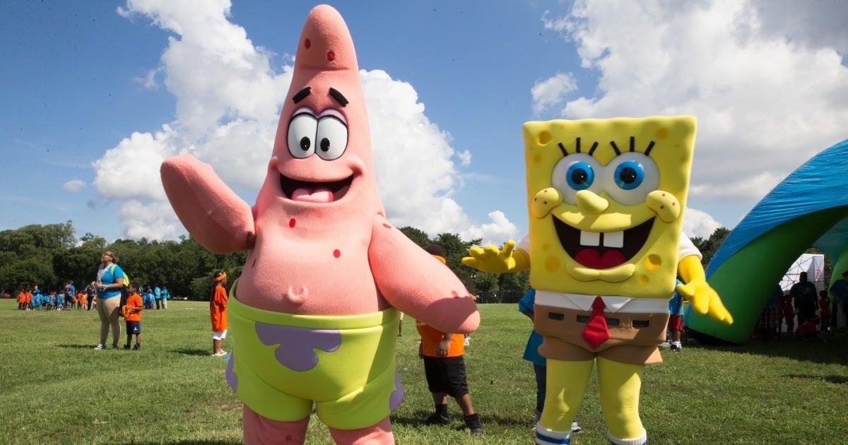 spongebob squarepants patrick star getty images