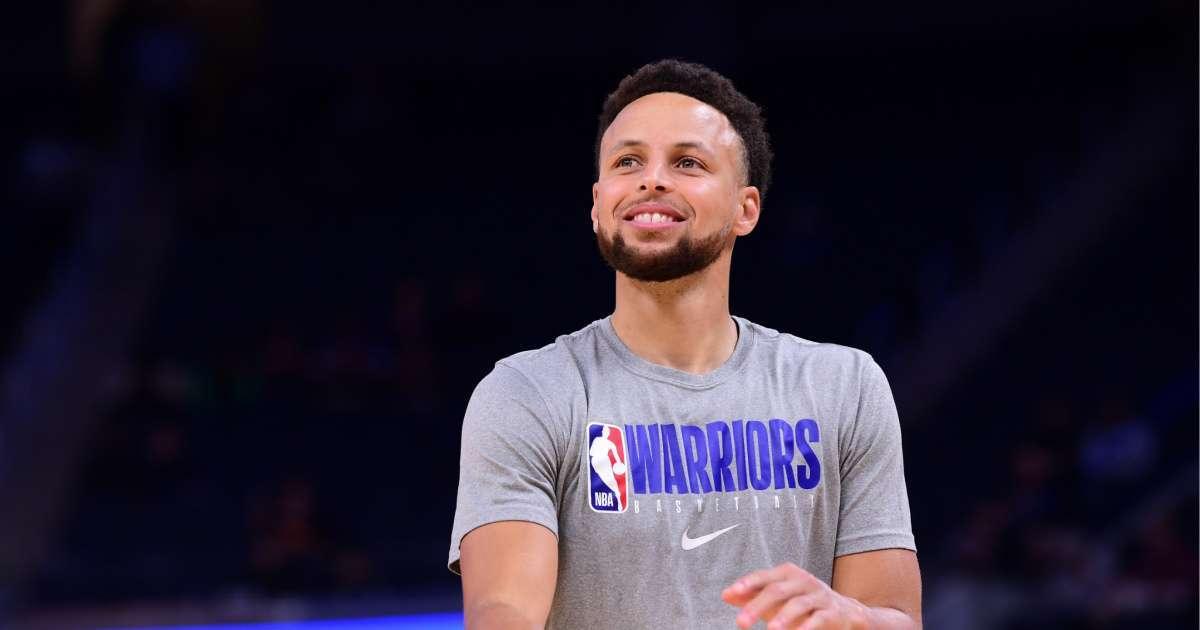 Steph Curry new look NBA Draft lottery social media reaction