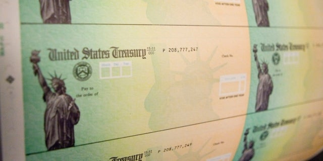 stimulus check getty images