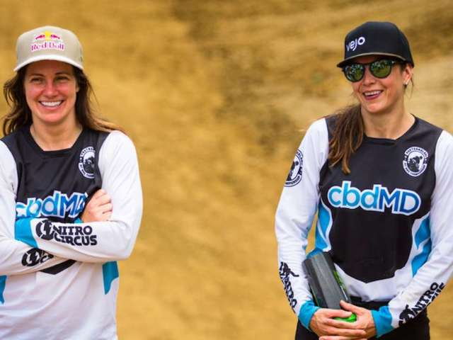 Team cbdMD Athlete Tarah Gieger Previews Travis Pastrana's 'Pastranaland Pit Bike Championship' (Exclusive)