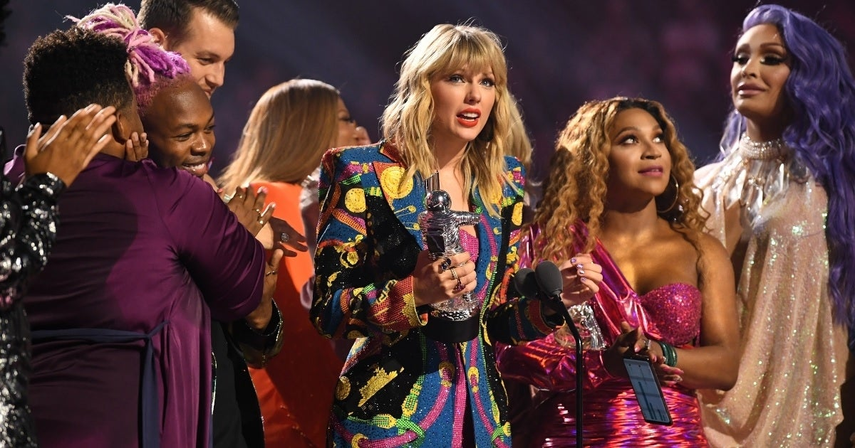 taylor swift 2019 mtv vmas getty imges