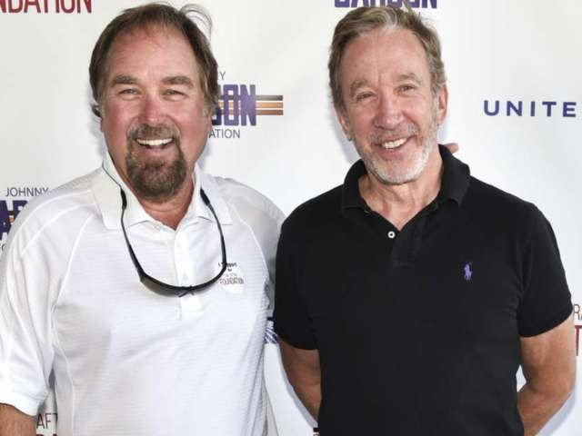 'Home Improvement' Stars Tim Allen, Richard Karn Reunite for Building Competition Show