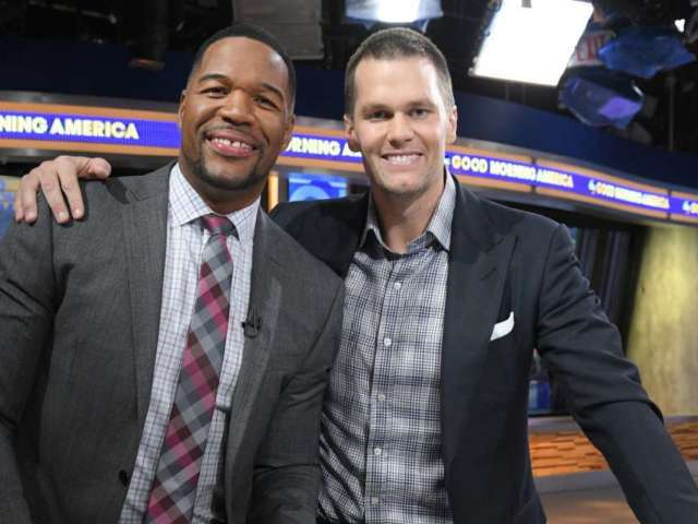 Tom Brady Claps Back at Michael Strahan Over Birthday Tweet