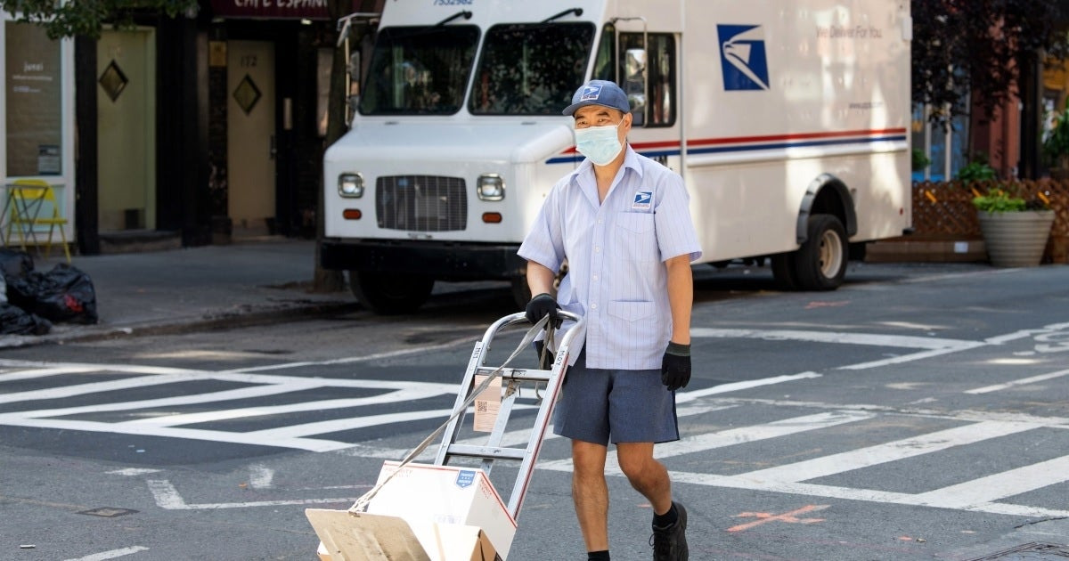 usps worker getty images
