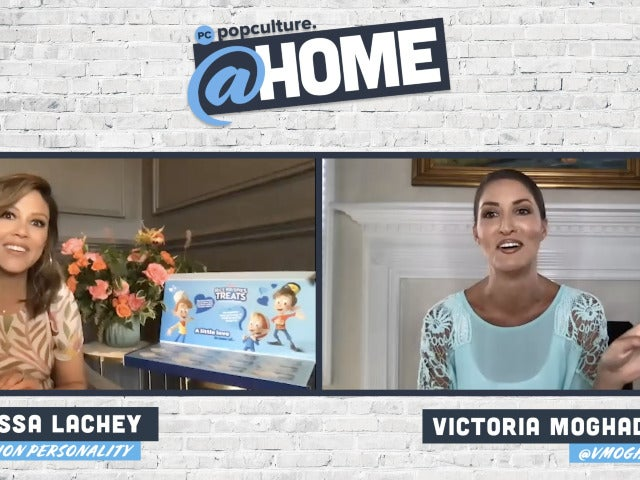 Vanessa Lachey - PopCulture @Home Exclusive Interview