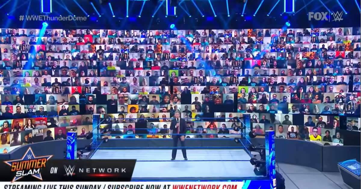 WWE statement virtual fan posts KKK image ThunderDome Raw