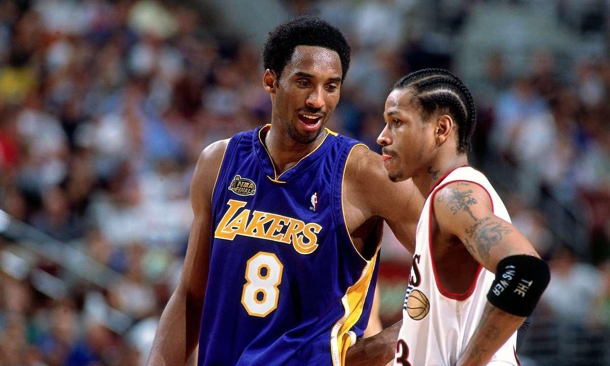 Allen Iverson Kobe Bryant emotional All-Star game