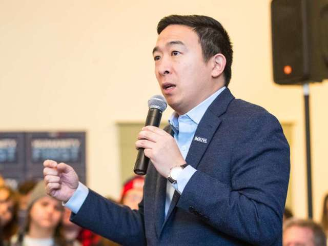 Andrew Yang Goes After WWE for Controlling Wrestlers' Outside Endeavors
