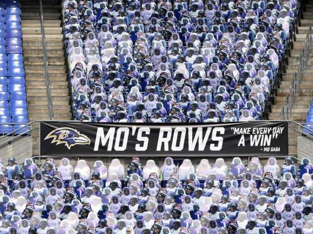 Baltimore Ravens Fill Stadium With Cardboard Cutouts of Teen Fan Who Recently Died of Cancer