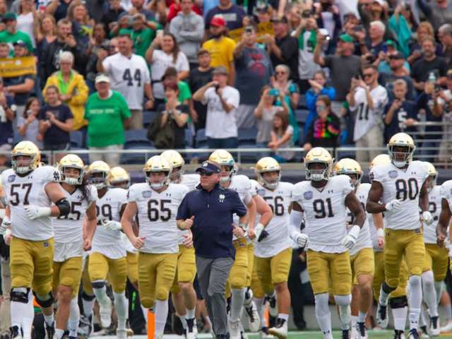 Notre Dame's Brian Kelly Says Team Dinner Sparked COVID-19 Outbreak