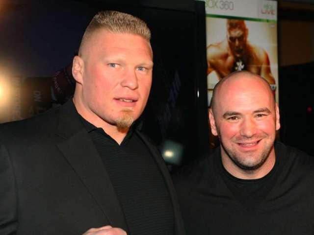 Dana White Shuts Down Brock Lesnar UFC Return Rumors