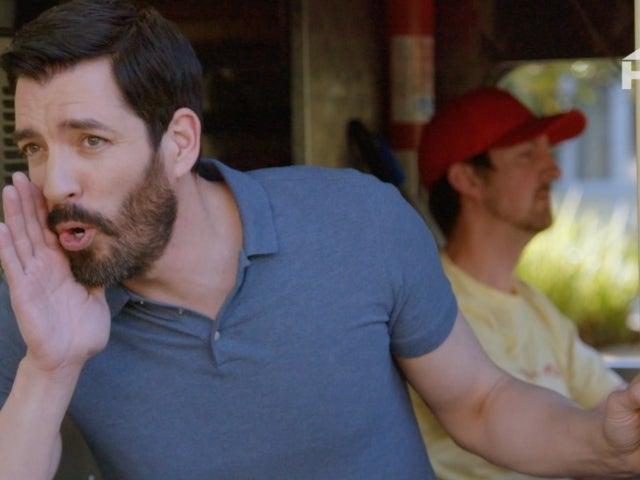'Brother Vs. Brother': Drew Scott Pulls off Cool Ice Cream Truck Prank on Twin Jonathan in Sneak Peek Clip