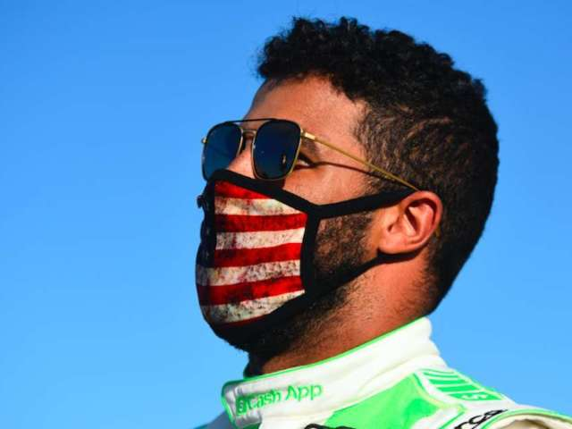 Bubba Wallace Shows off Perfect Sports Setup During Trip to Las Vegas
