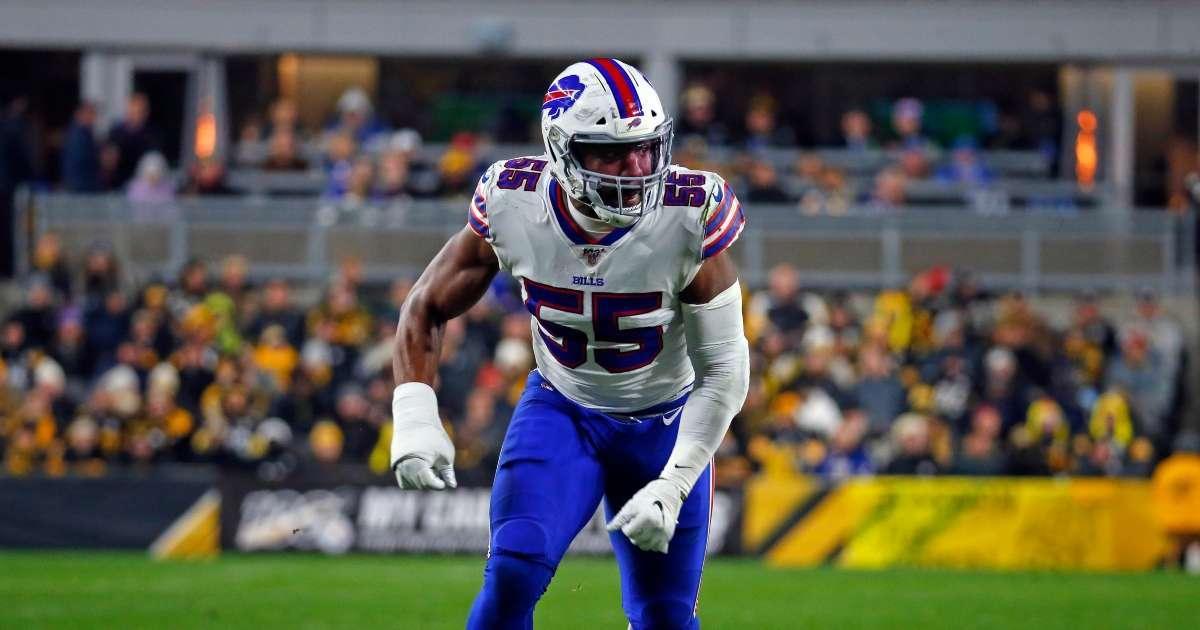 Buffalo Bills Jerry Hughes stay healthy B1 Vitamin Patch