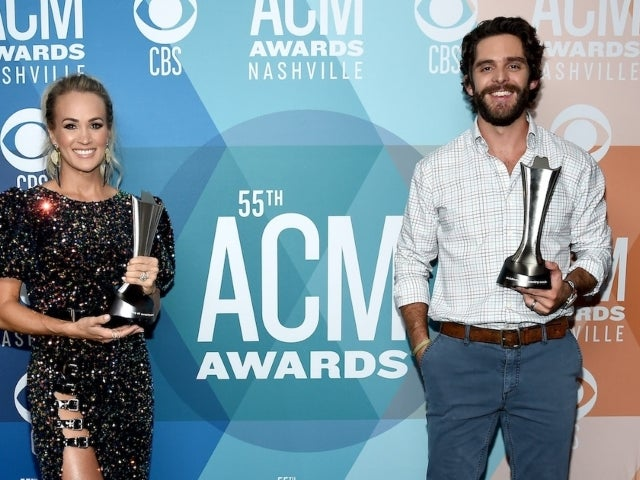 ACM Awards: Carrie Underwood and Thomas Rhett Tie for Entertainer of the Year Award