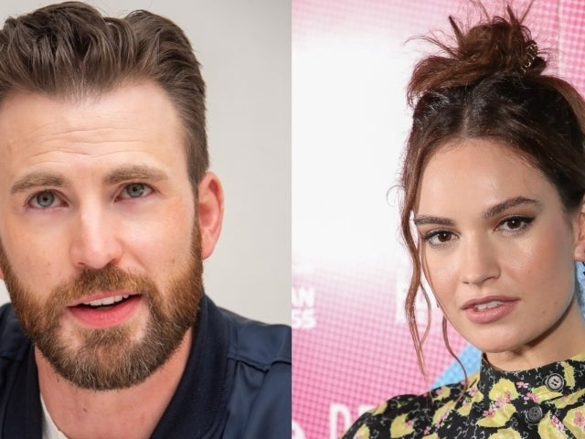 Is 'Avengers' Star Chris Evans Dating British Actress Lily James?