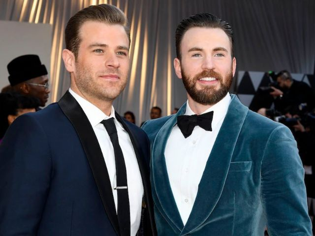 Chris Evans Gets Scared by His Brother Scott in Hilarious Post-Thanksgiving Prank Video