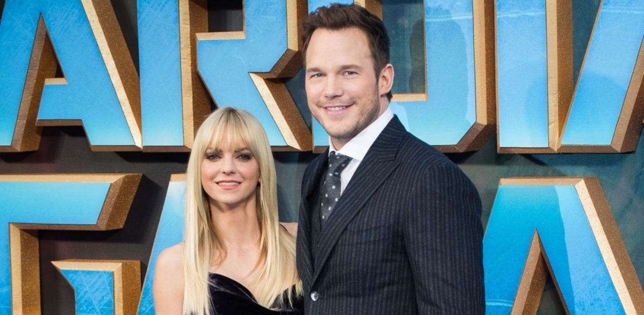 chris-pratt-anna-faris-getty