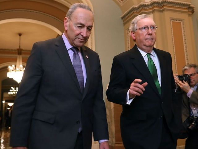 Schumer and McConnell Close to Deal on Donald Trump Impeachment Trial