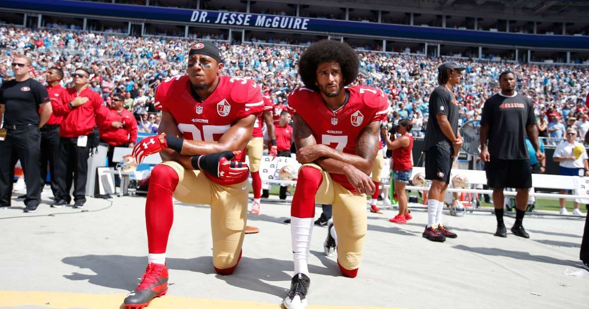 Colin Kaepernick blats NFL Week 1 protests Eric Reid not signed