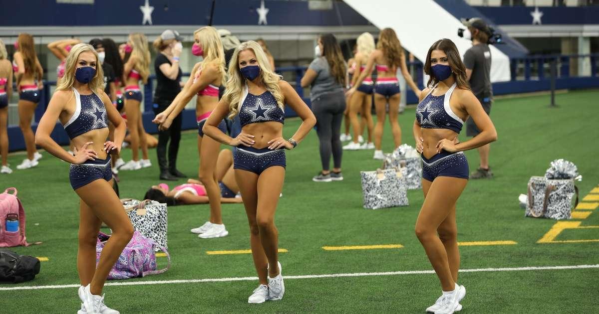 Dallas Cowboys Cheerleaders Making the team renewed 15th season