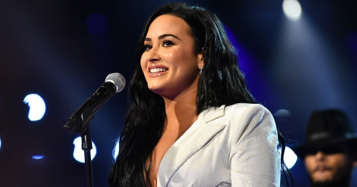 demi lovato grammys getty images