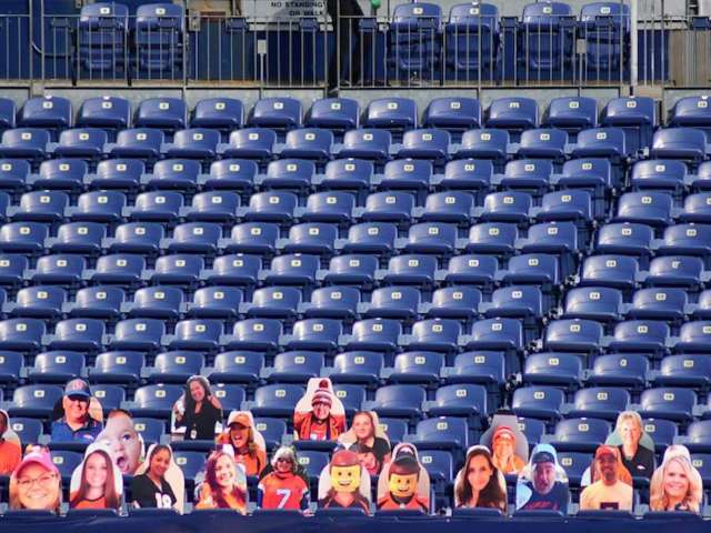 Denver Broncos Fill Stands with 'South Park' Characters for Game vs. Bucs